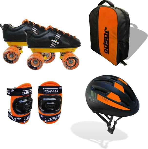 Jaspo Roadster Eco Quad Roller Blade Shoe Skates Quad Roller Skates Quad Roller Skates - Size UK - 13 JUNIOR