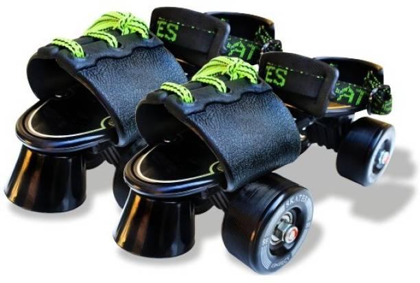 Adrenex by Flipkart Drift 100BK Quad Roller Skates - Size 1-7 UK