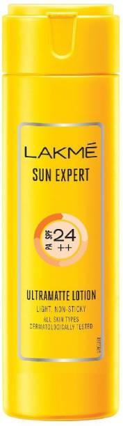 Lakmé sun expert pa ultramatte lotion - SPF 24 PA++