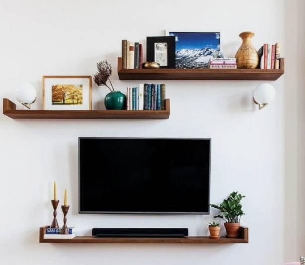 CuteKitchen CK14KF Aaranya Engineered Wood TV Entertainment Unit