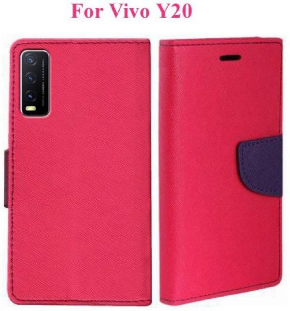 Wristlet Flip Cover for Vivo Y20