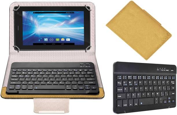ACM Keyboard Case for Lava Qpad R704