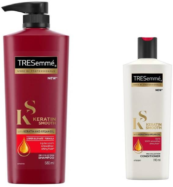 TRESemme Keratin Smooth Combo (Shampoo And Conditioner)