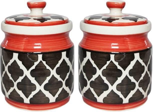 TheCraftmen L2RD  - 600 ml Ceramic Pickle Jar