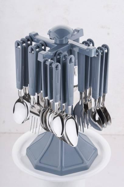JE EXPORT Plastic, Steel Cutlery Set