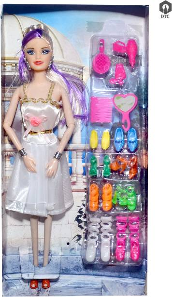 mohini collection Doll Blue Hair Foldable Doll