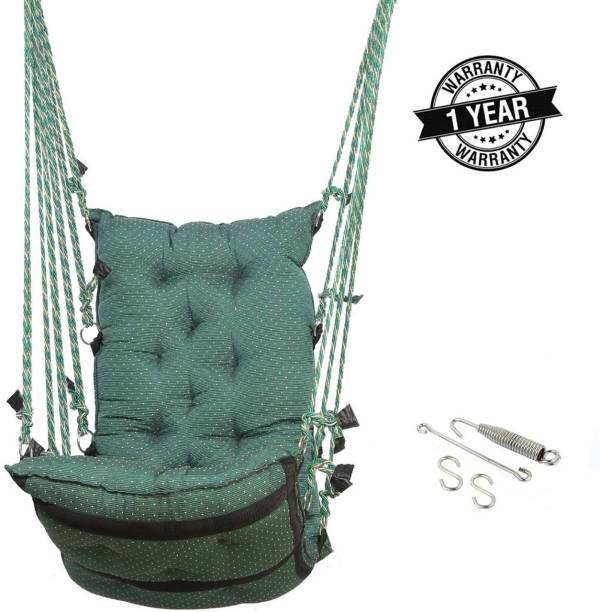 Smart Beans Green Hammock With Accessories Cotton Small Swing