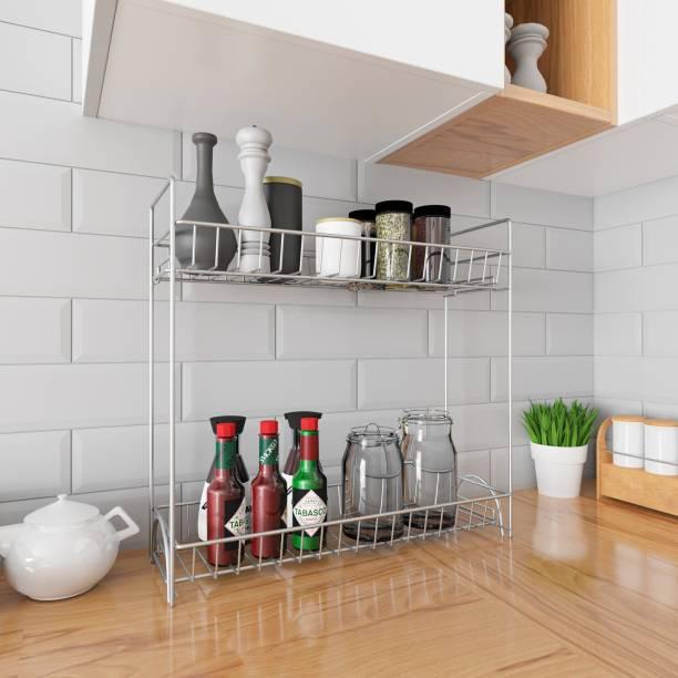 Flipkart Perfect Homes Studio Metal Kitchen Cabinet