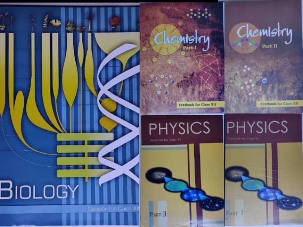 NCERT Physics, Chemistry,Biology (PCB) Books Set For Class 12 (English Medium)