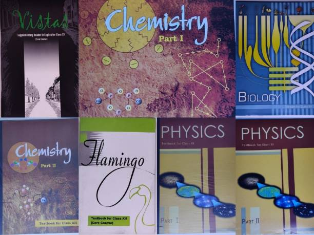 NCERT Science (PCB) Complete Books Set For Class -12 (English Medium)