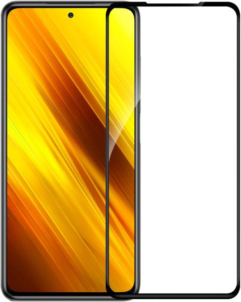 Flipkart SmartBuy Edge To Edge Tempered Glass for Infinix Hot 9, Infinix Hot 9 Pro, Poco X3, Motorola Moto G 5G, Mi 10T, Poco X3 Pro, Motorola Moto G9 Power