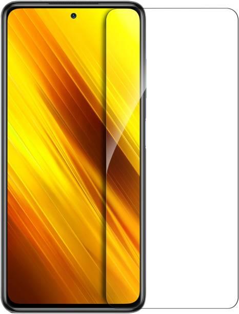 Hupshy Tempered Glass Guard for POCO X3, POCO X3 Pro