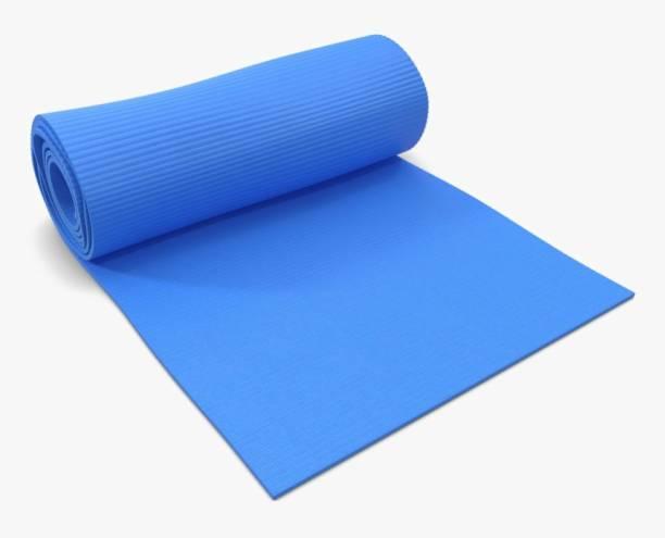 ALLURE Yoga & Exercise Mat 6 MM Blue 6 Mm mm Yoga Mat