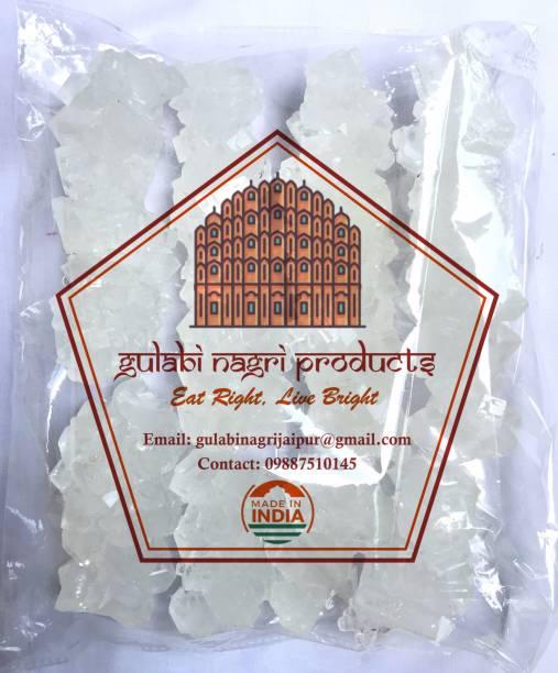 gulabi nagri product GULABI NAGRI Crystal White Dhaga Mishri Sugar(Thread crystal) 900gm Sugar