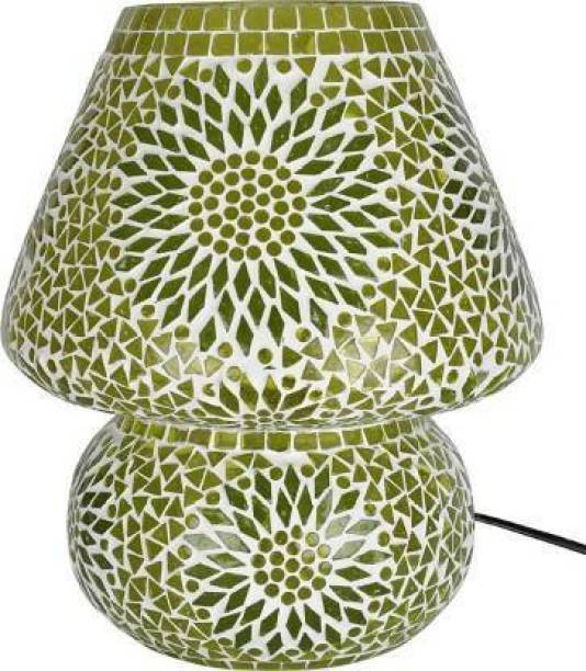 zsquarehp Style Dome Shaped Glass Table Lamp Table Lamp