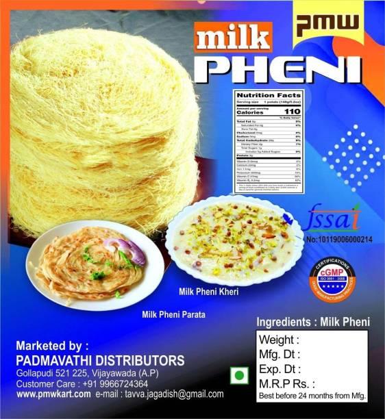 PMW Pheni - Ghee Milk Pheni - Peni - Pack of 3 - 200 Grams Each Vermicelli 600 g
