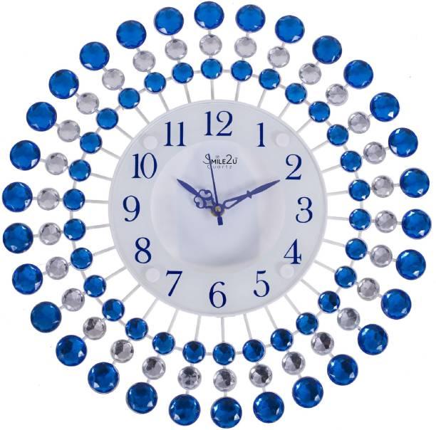 Smile2u Retailers Analog 36 cm X 36 cm Wall Clock