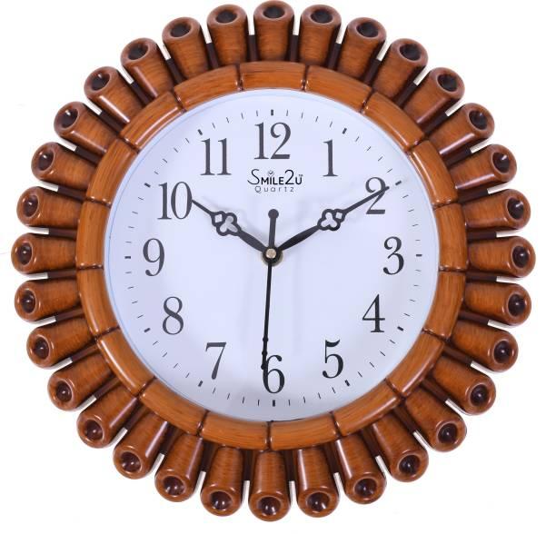 Smile2u Retailers Analog 28 cm X 28 cm Wall Clock