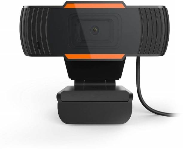 BabyTiger WEBCAM FOR ONLINE CLASSES & CONFERENCE WITH MICROPHONE  Webcam