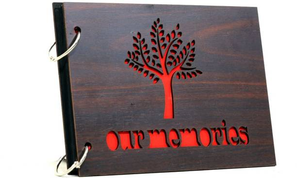 Whichwood Our Memories Wooden Album Album