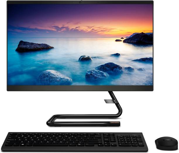 Lenovo Ideacentre Core i3 (10th Gen) (4 GB DDR4/1 TB/Free DOS/21.5 Inch Screen/Ideacentre A340-22IWL)