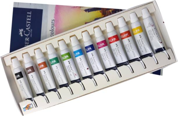 FABER-CASTELL Majestic Basket Creative Studio 12 Shades Watercolours Set