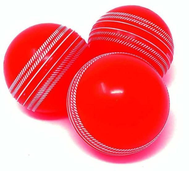 RIO PORT Heavy Cricket Wind Ball (RED) - { Each Weighs 135 Grams } Baseball