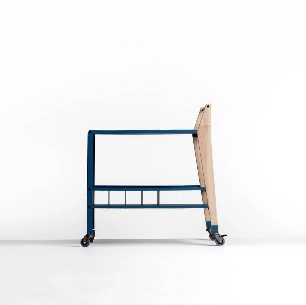 SPIN Nyx Metal Bar Trolley