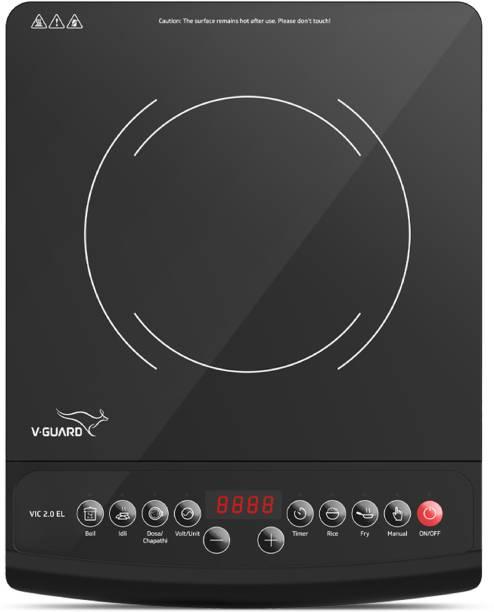 V-Guard VIC 2.0 EL Induction Cooktop