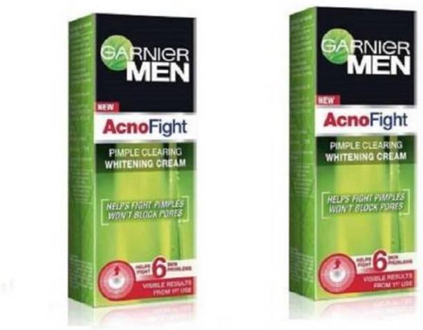 GARNIER men acno fight whitening cream 45ml pack of 2