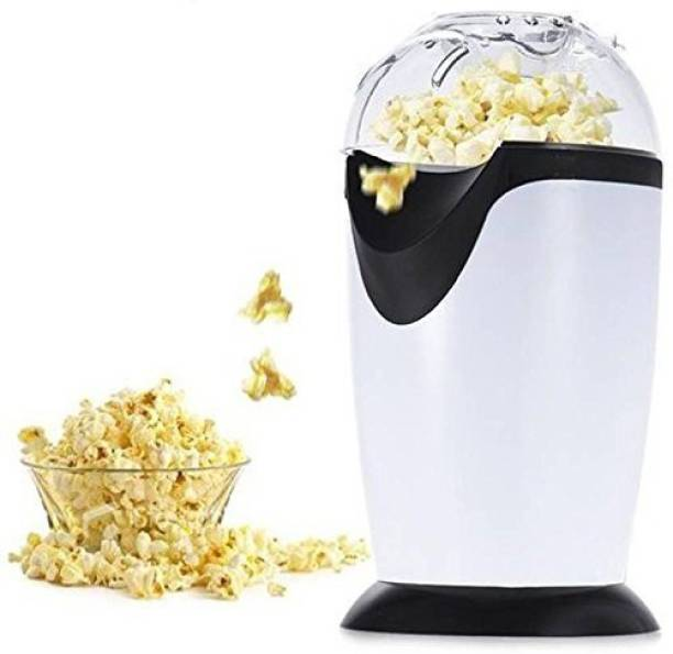 UK Enterprise Popcorn Machine - Oil Free Mini Hot Air Popcorn Machine Snack Maker Popcorn Machine POPCORN MAKER 300 ml Popcorn Maker