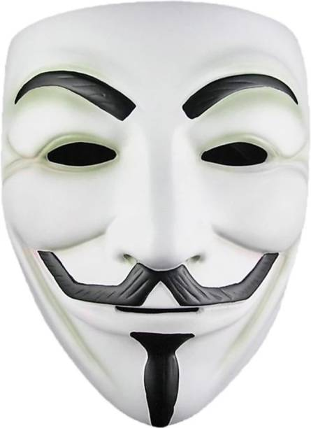 AK trade Vendetta Mask Comic Face Anonymous Guy Fawkes Party Mask Party Mask