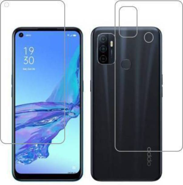 PR SMART Front and Back Tempered Glass for Oppo a53
