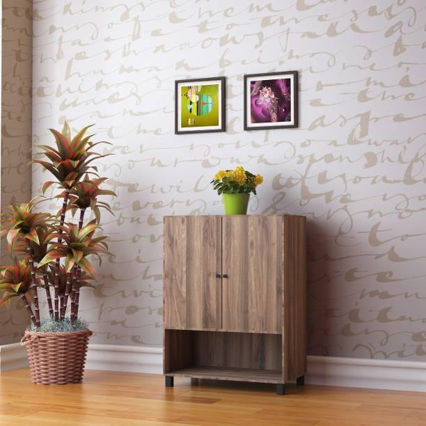 @Home by nilkamal Astero Engineered Wood Shoe Rack