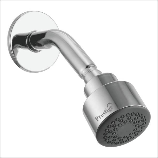 Prestige Shower Ess-Ess with Stainless Steel Arm Round Overhead Shower Shower Head