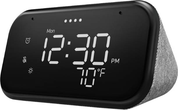 Lenovo Smart Clock Essential with Google Assistant Smart Speaker