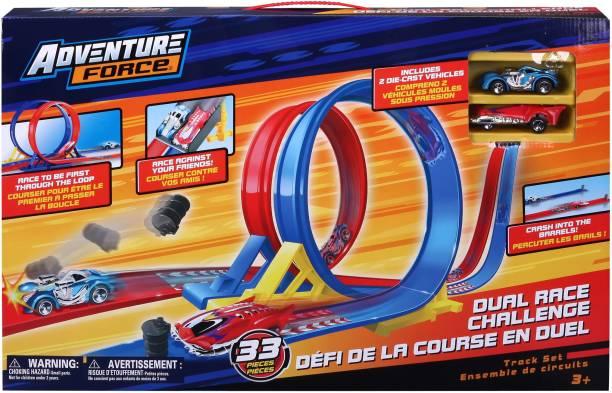 Adventure Force Dual Race Loop Playset