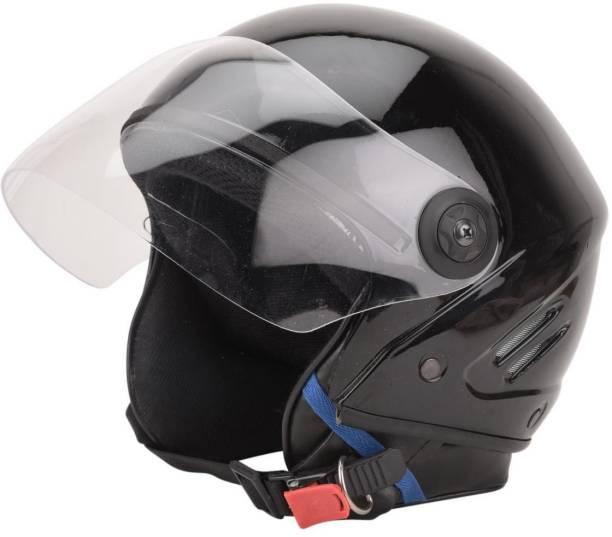 GTB TRACK ISI HELMET-BLACK Motorbike Helmet
