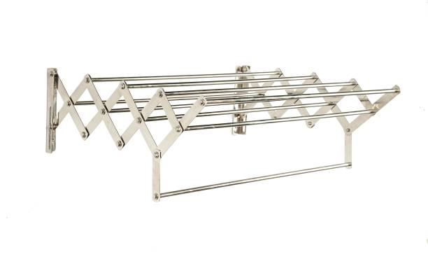 LivingBasics Steel Wall Cloth Dryer Stand LBCD_013