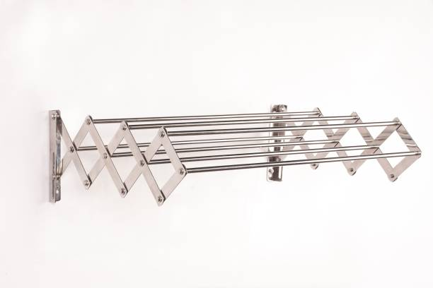 LivingBasics Steel Wall Cloth Dryer Stand LBCD_012