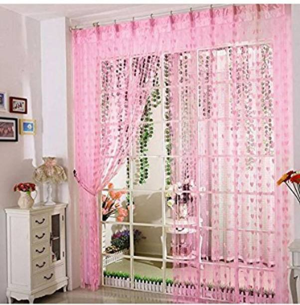 Flipkart SmartBuy 213 cm (7 ft) Net Door Curtain Single Curtain