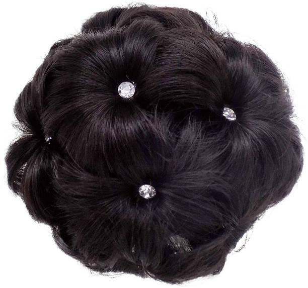 SkyHair Juda Hair Clutcher With Rose Clips For Women Bun Clip