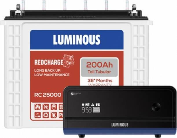 LUMINOUS RC25000+Zelio1100 Tubular Inverter Battery