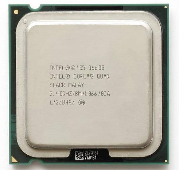 Intel CORE 2 QUAD Q6600 PROCESSOR 2.4 GHz LGA 775 Socket 4 Cores Desktop Processor