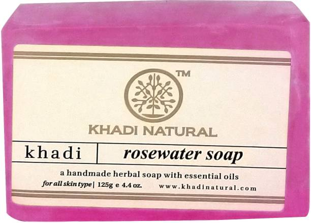 KHADI NATURAL Rosewater Soap