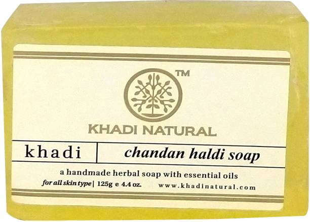 KHADI NATURAL Ayurvedic Chandan Haldi Soap