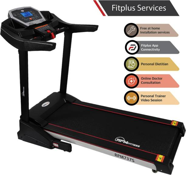 RPM Fitness RPM737S 3 HP Peak with Free Installation and Auto-Lubrication Treadmill