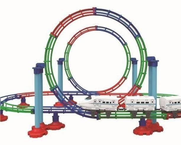 MITASHI Roller Coaster Bullet Train Large
