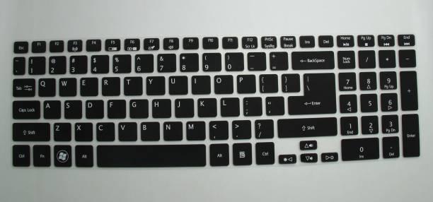 Saco Chiclet Keyboard Skin for Acer Aspire ES1-571 NX.GCESI.001 Notebook Core i3 (5th Generation), 4 GB RAM, 1TB HDD,39.62cm(15.6) Screen, DOS , DIAMOND BLACK Keyboard Skin