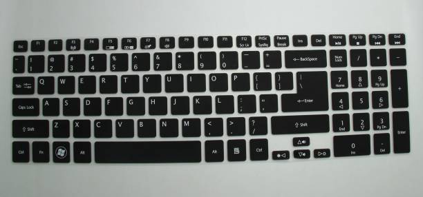 Saco Chiclet Protector Cover For Acer Aspire Es1-512 Notebook Laptop Keyboard Skin